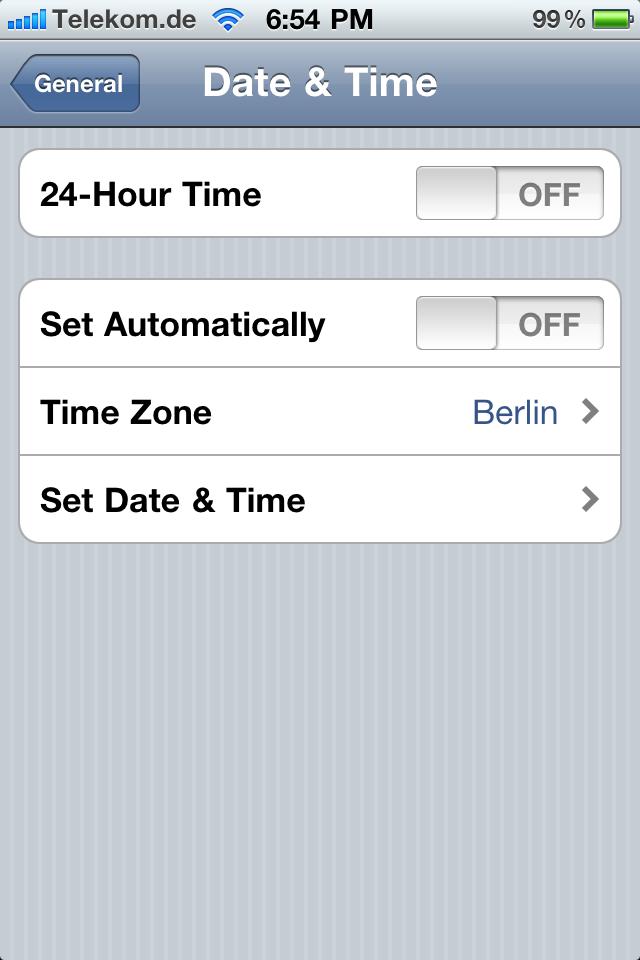 Time zones | 1 5 71